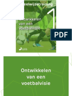 237222358 Voetbalmethode eBook Deel 1 Voetbalvisie