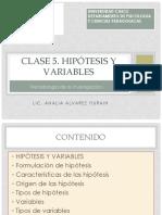Clase5.Hipótesis