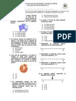 Examen de nuemros mixtos