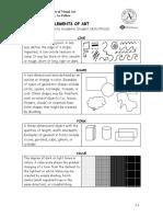 Elements and Principles of Visual Art