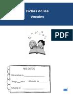 Cuadernillo de Reforzamiento Vocales