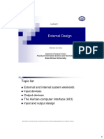 Lecture 8 (External Design)