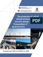 The protection of critical infrastructures against terrorist attacks