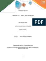 Trabajo Final- Finanzas Públicas- UNAD