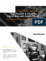 Cultivate & Craft Your Online Portfolio