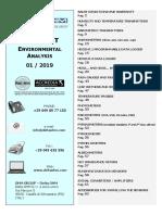 Price List Environ Analysis ENG 2019