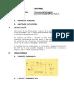 Informe Transmisor Amplitud Modulada