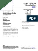 ADG804-1502993 Analog Multiplexor