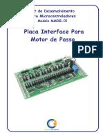 Manual Motor de Passo