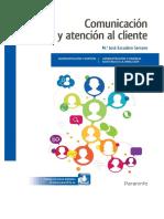 Comunicación y Atención Al Cliente 2ºEdición Paraninfo