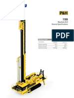 77XR Blasthole Drill Specification Sheet
