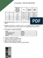 Dosagem de proteína por Bradfor