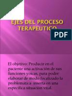 Ejes Del Proceso Terapeutico 7