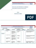 Planificacion Ciencias Sociales Quinto
