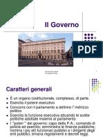 9.Il Governo II