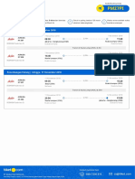 Flight E-ticket - Order ID 55429323 - 12102018