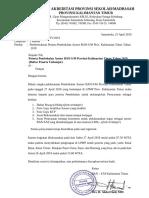 Surat No. 77 Pemberitahuan Segera Melampirkan Persyaratan Asesor