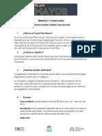 Términos y Condiciones Convocatoria Fondo Plan Mayor (2)
