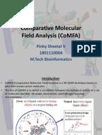 107156518-CoMFA-Comparitive-Molecular-Field-Analysis.pptx