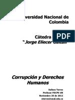 Pp Corrupción Cátedra Gaitán