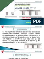Diseño de Vigas de Sección T y L