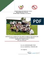 Rapport de La Formation Des Recosites Et Prestataires