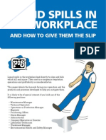Liquid spills in the workplace - and how to give them the slip