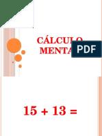 CÁLCULO MENTAL.pptx
