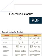 Lighting and Power Layout