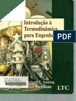 Introdução à Termodinâmica Para Engenharia