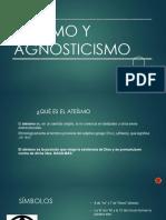 Agnosticismo y Ateismo