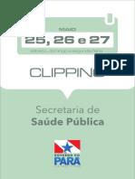 2019.05.25 26 27 - Clipping Eletrônico