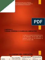 Causas y Fuentes Del Conflicto