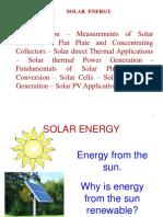 L 5 Solar Applications