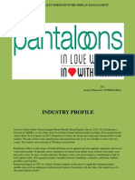 Project on Pantaloons(PPT)