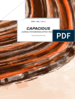 Capacious Vol 1 No 2 2018