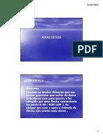 Microsoft PowerPoint - ANALGESIA-II - MARCELO [Modo de Compatibilidade]
