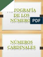 5. Ortografía de Los Números