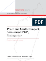 Peace and Conflict Impact Assessment (PCIA)