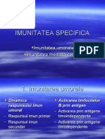 Imunitatea Specifica Final