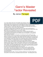 Gann's Master Time Factor, Flanagan