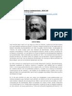 Marx biografia