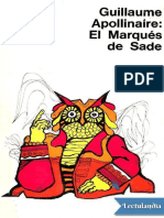 Apollinaire Guillaume. El Marques de Sade.