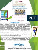 Presentacion Cte 5a Sesión 2019