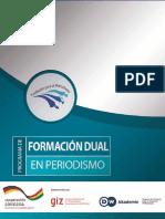 Giz2015 Sp Formacion Dual en Periiodismo Bolivia