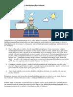 Consejos Para La Seguridad en Instalaciones Fotovoltaicas