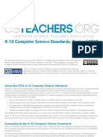 CSTA Computer Science Standards Revised 2017