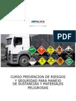 Manual Del Curso Prevencion de Riesgos y Seguridad Para Manejo de Sustancias y Materiales Peligrosas Vf