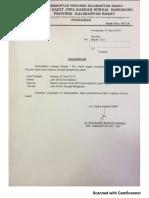 Undangan Evluasi Revisi SPO Kabur