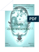 Lógica cuantificacional (3)